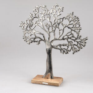 """Beeld """"Zilveren levensboom"""""""