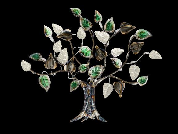 """Metalen wanddecoratie """"Tree of Heaven"""""""