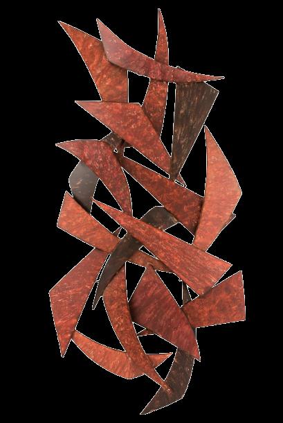 """Metalen wanddecoratie """"Shards"""""""