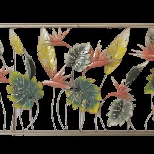 "Metalen wanddecoratie ""Flami box"""