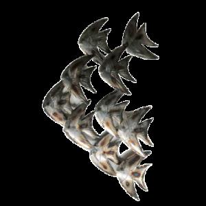 """Metalen wanddecoratie """"Freshwater Angelfish"""""""