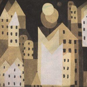 """Aluminium schilderij """"Cold City"""" van MondiArt"""