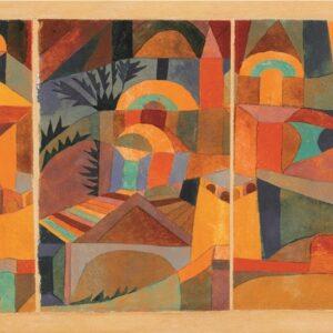 "Aluminium schilderij ""Temple Gardens"" van MondiArt"