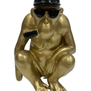 "Beeld ""Coole chimpansee"""