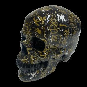 """Beeld """"Street art skull"""""""