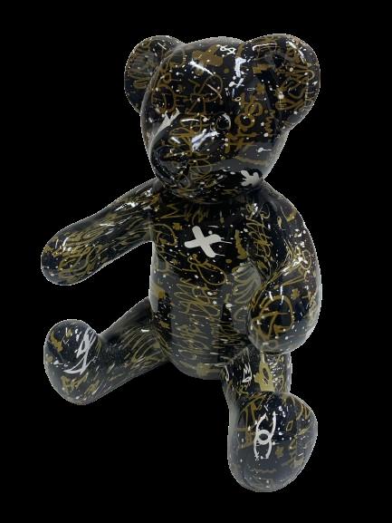 "Beeld ""Graffiti Teddy"""