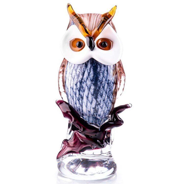 """Glazen beeld """"Owl"""""""
