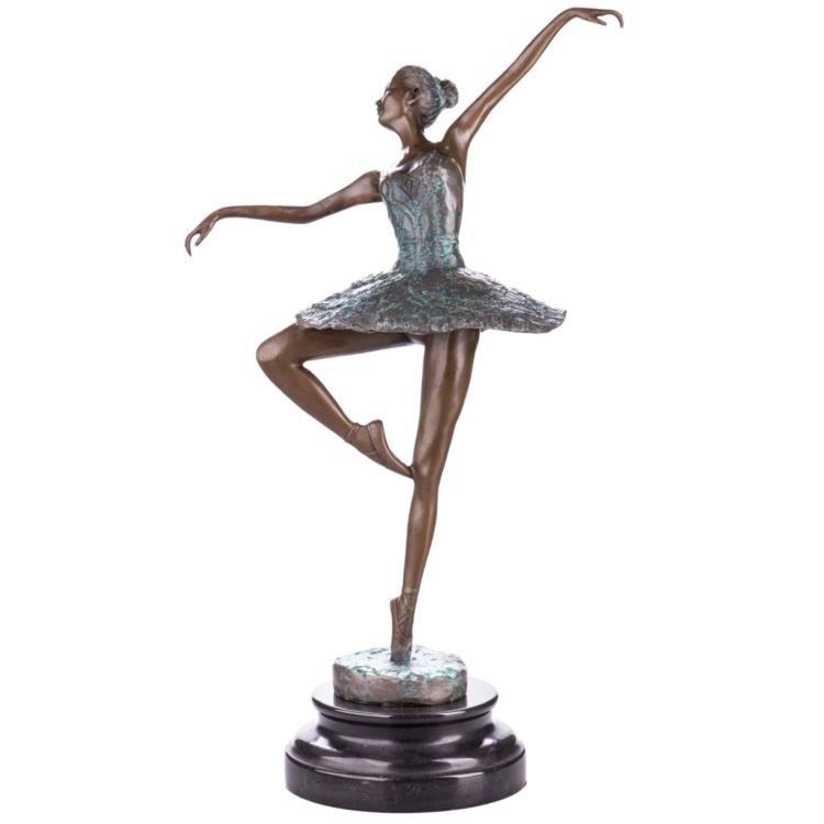 """Bronzen beeld """"Prima Ballerina"""""""
