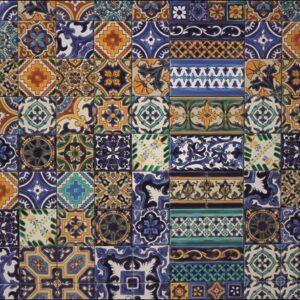 "Design karpet ""Tiles"" van MondiArt"