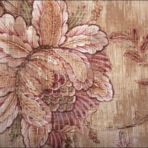 "Design karpet ""Vintage Flower"" van MondiArt"