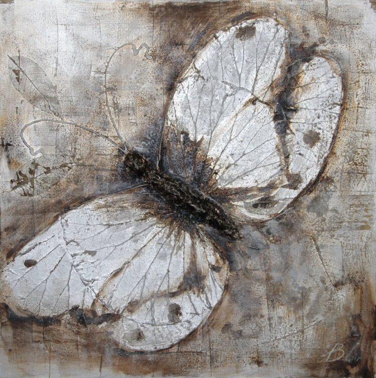 "Schilderij ""Butterfly Fever"""