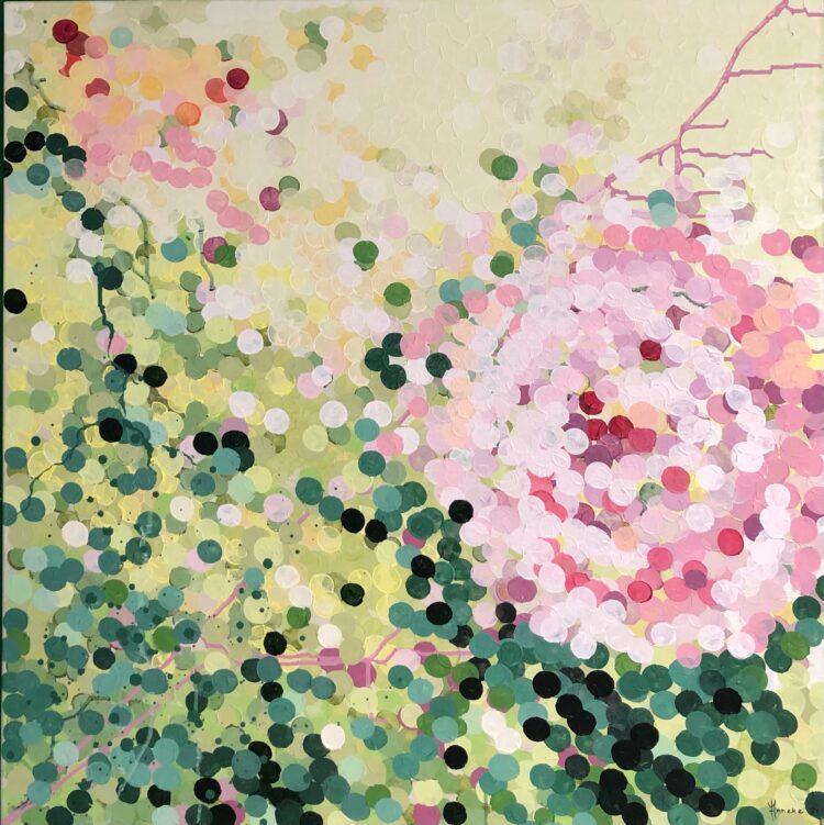 """Schilderij """"Theeroos"""" van Anneke Swanink"""
