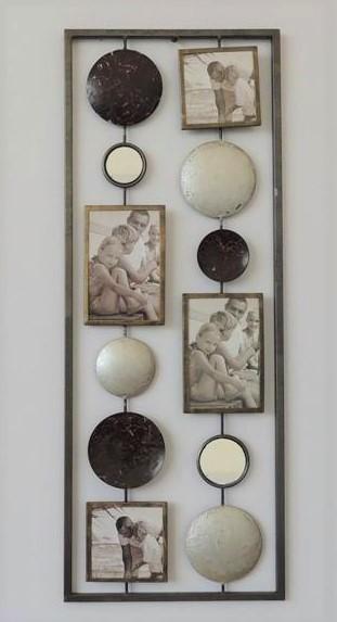 Metalen wanddecoratie For the Memories Foto GS-A21
