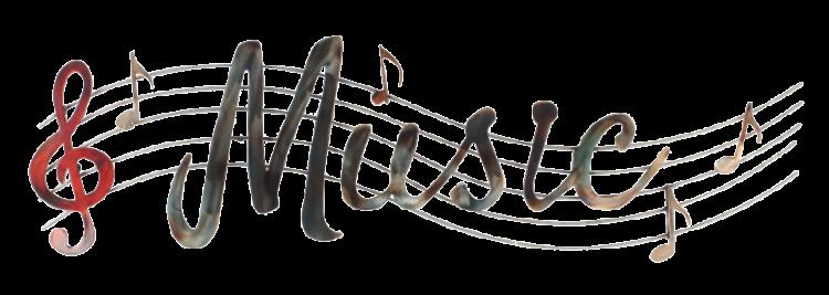 """Metalen wanddecoratie """"Musica-E"""""""