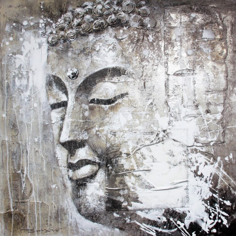 "Schilderij ""Buddha's Delight"""