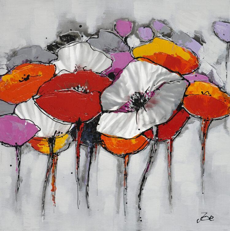 """Schilderij """"Colorful Blossom"""""""