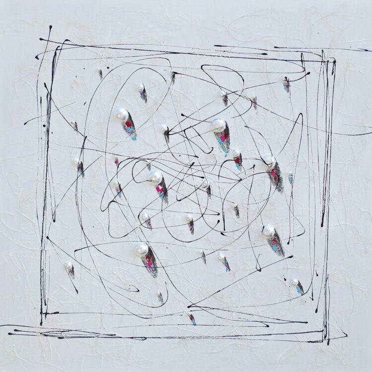 """Schilderij """"Lines and Floats"""""""