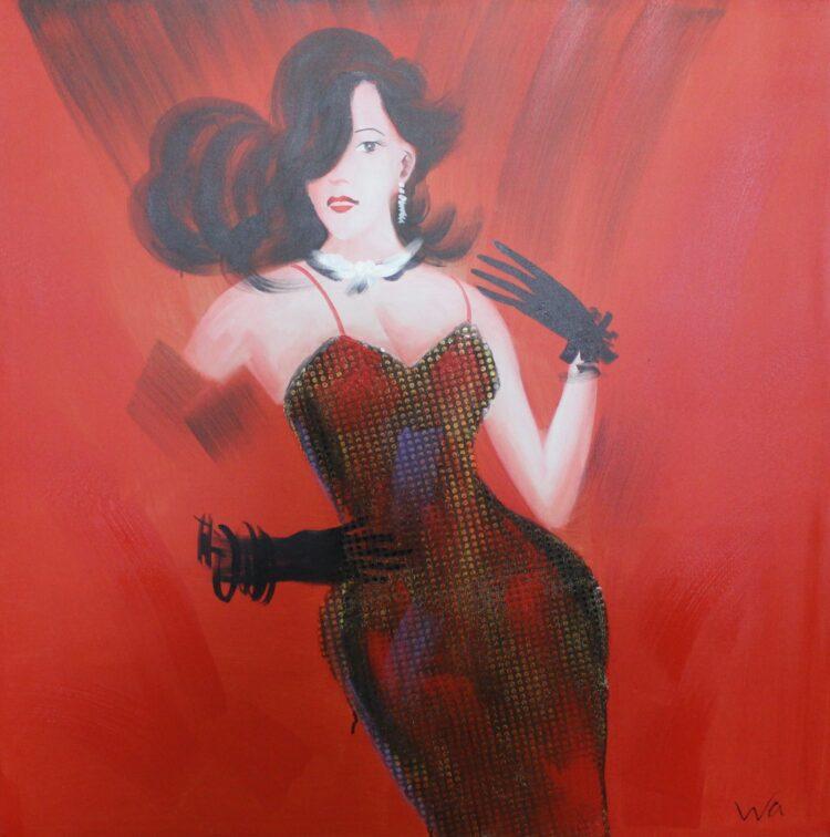 """Schilderij """"Morgana"""""""