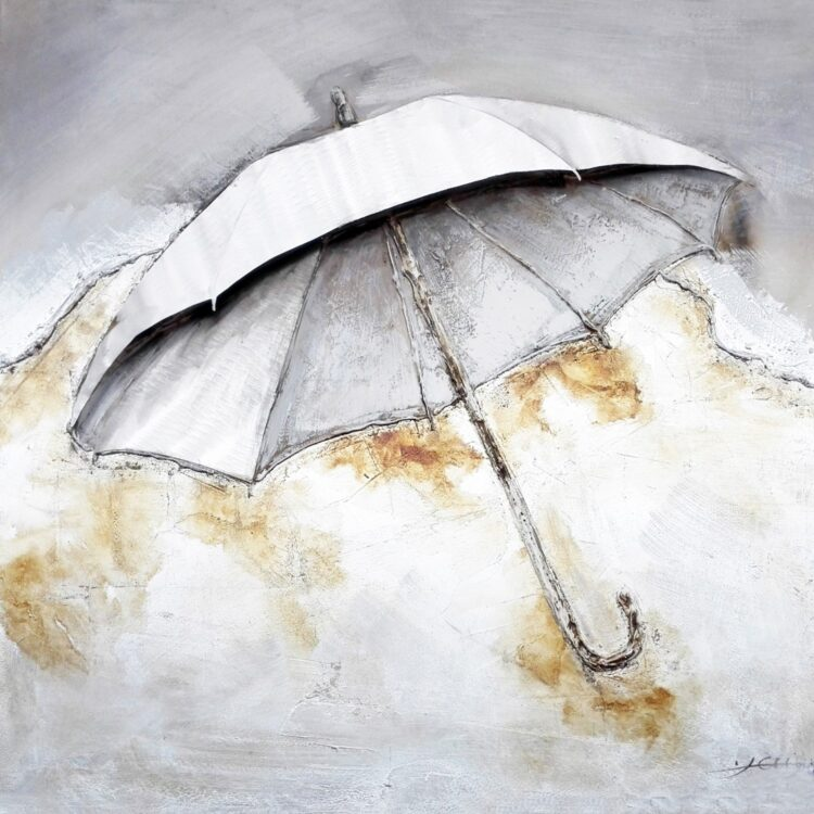 "Schilderij ""My Umbrella"""