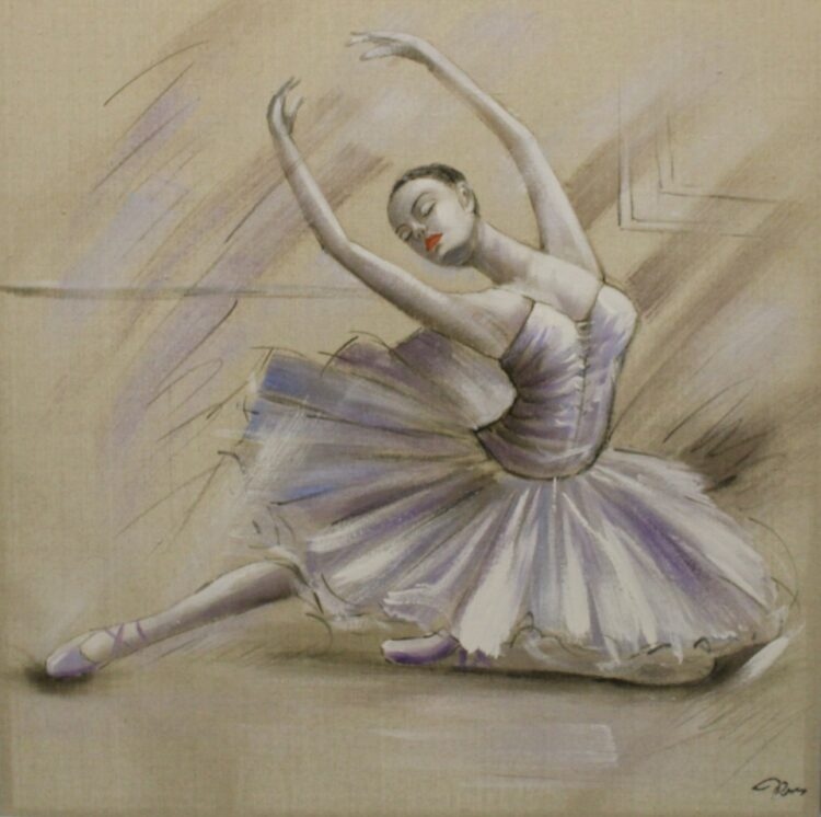 "Schilderij ""Classical Grace"""