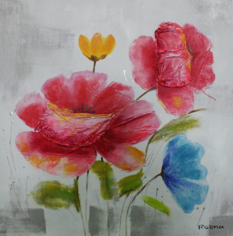 """Schilderij """"Flowers for You"""""""