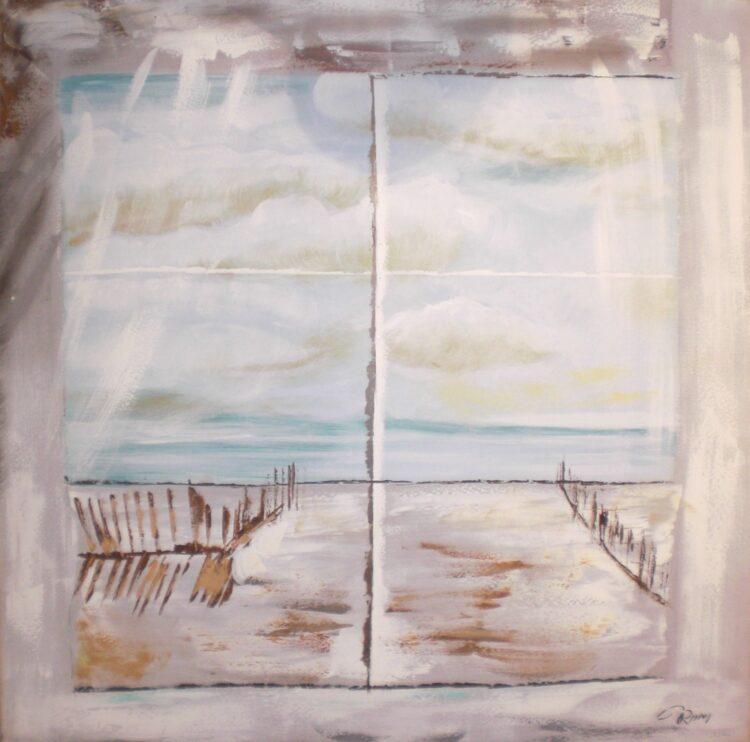 """Schilderij """"Heavenly Beach"""""""