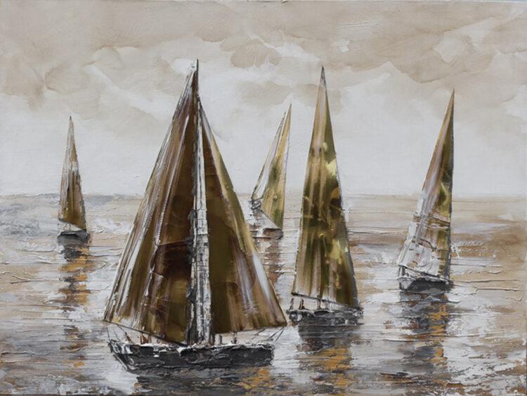 """Schilderij """"Relaxing on Sea"""""""