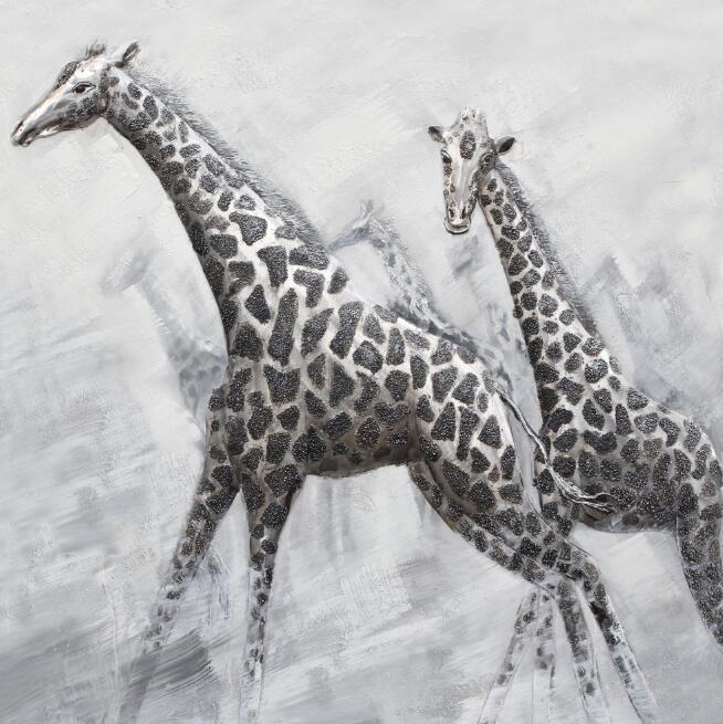"""Schilderij """"Tallest Animals"""""""