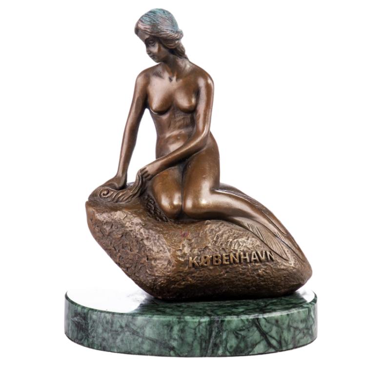 """Bronzen beeld """"Princess of the Sea"""""""