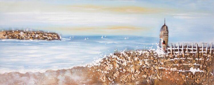 """Schilderij """"Beachside"""""""