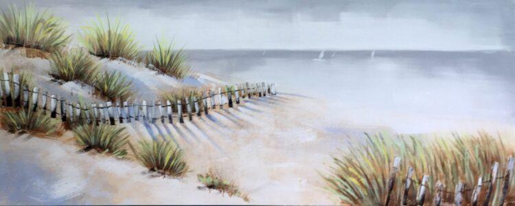 """Schilderij """"Beachy View"""""""