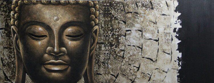 "Schilderij ""Buddha's Grace"""
