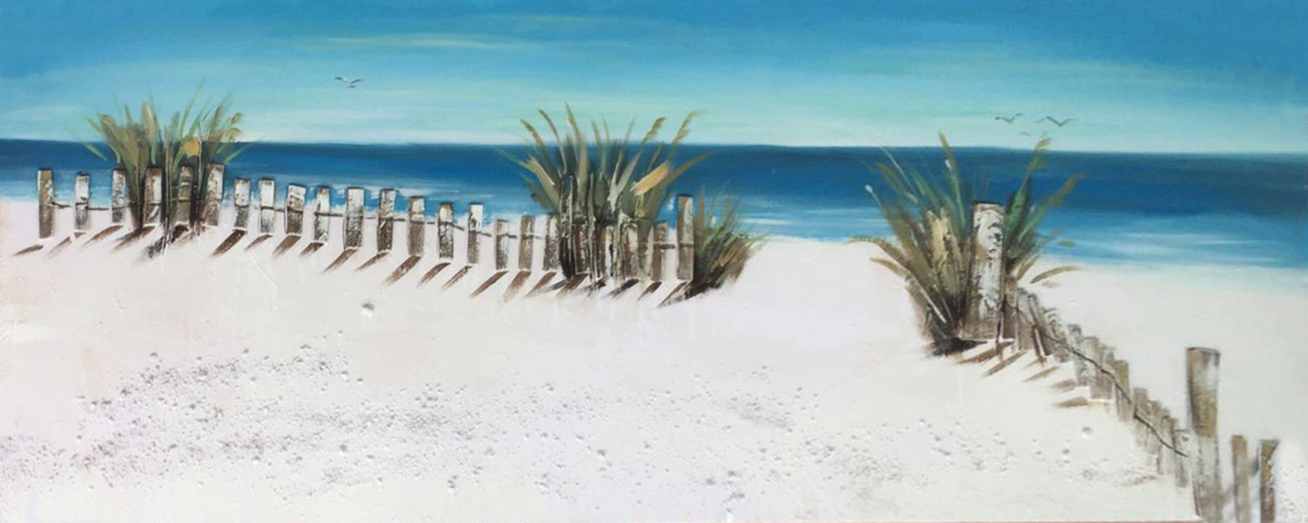 Schilderij Gateway to the Beach Strand Zee GS-P0544