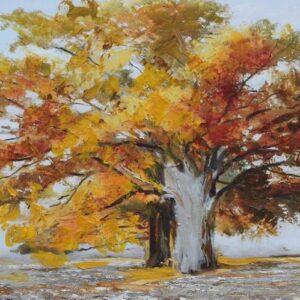 """Schilderij """"An Autumn Day"""""""