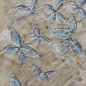 """Schilderij """"Light Blue Butterflies"""""""