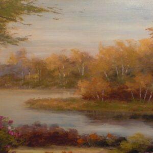 """Schilderij """"Relaxing Scenery"""""""
