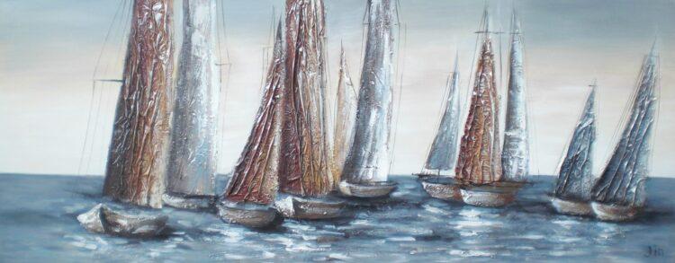 """Schilderij """"Sailor's Adventure"""""""