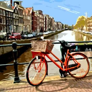 Fiets in Amsterdam