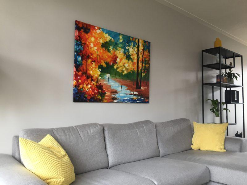 Perfect schilderij voor ons interieur