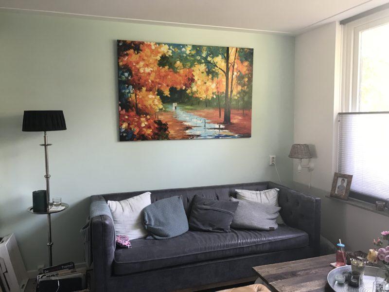 De herfst in huis