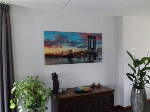 Mooie Betaalbare kunst aan onze muur !!