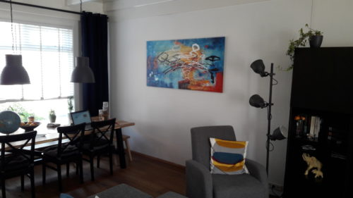 Spetterende wand