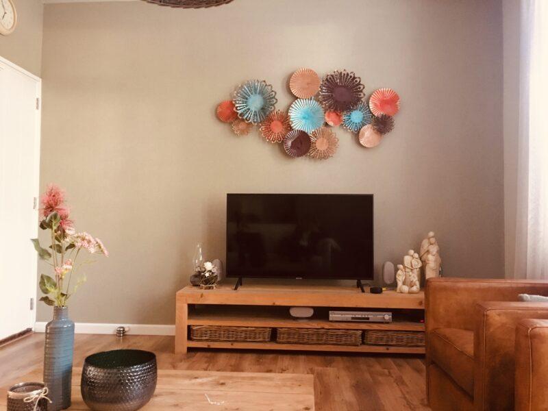 Prachtig kunstwerk, een parel in de woonkamer!