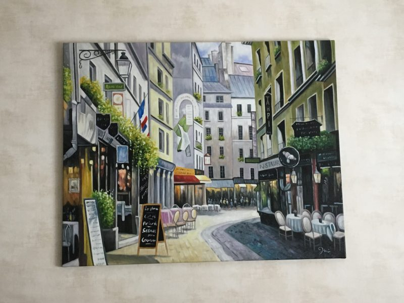 Straatje in Parijs