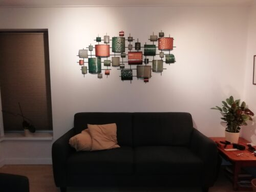 kamer opgefleurd