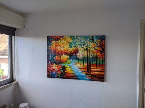 Mooi schilderij